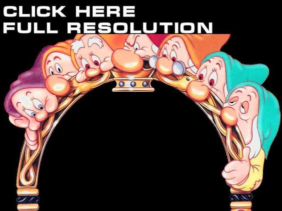 Disney Snow White and the Seven Dwarfs Cartoons