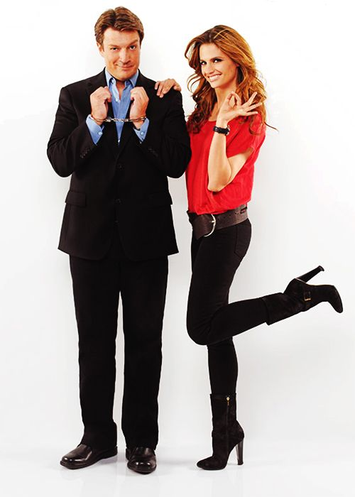Nerd ♥ ~ Nathan Fillion.....Castle + Beckett = Caskett :)