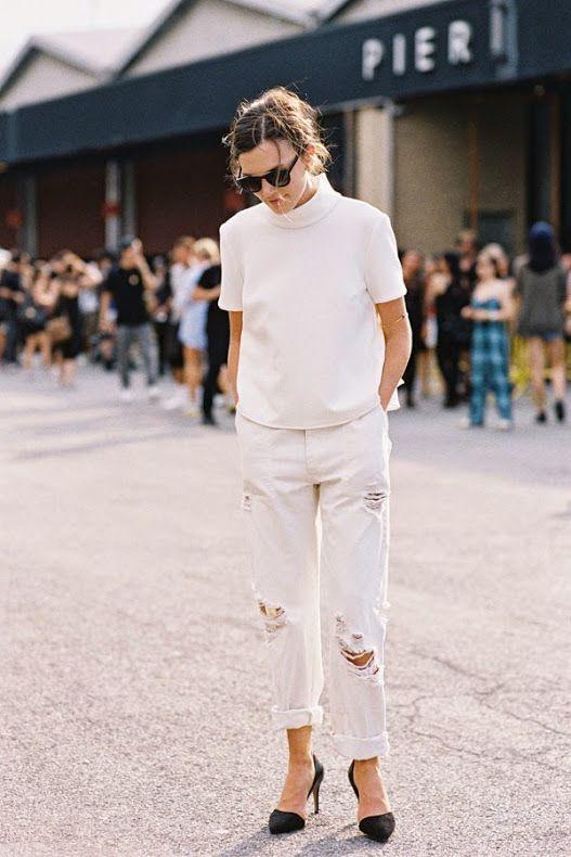 New York Fashion Week SS 2015....Before Alexander Wang: