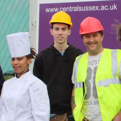 Apprenticeship Week 2012 at Central Sussex College