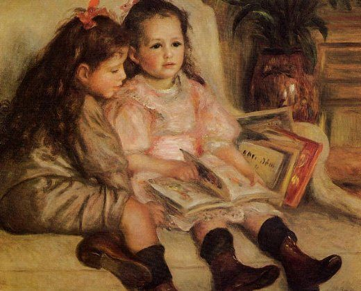 pierre auguste renoir the children of martial caillebotte paintings