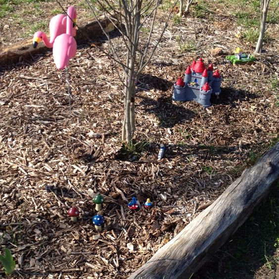 Beginning of my Alice in wonderland themed garden