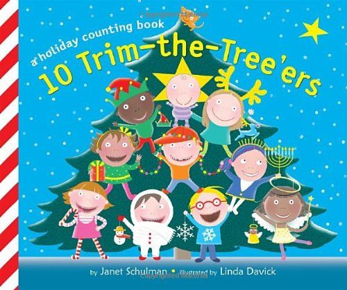 10 Trim-the-Tree'ers (Holiday Counting Books) by Janet Schulman,http://www.amazon.com/dp/0375873023/ref=cm_sw_r_pi_dp_itLDsb1N2B24EEXV