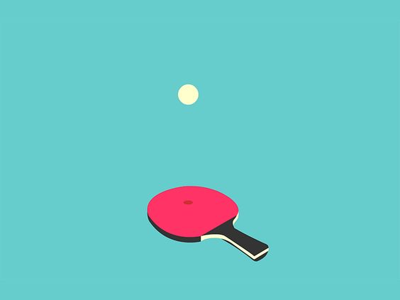 Ping Pong Ping Pong Motion Design Animation Tennis Posters