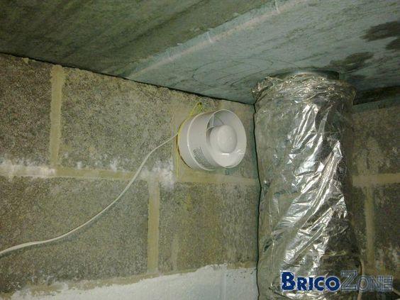 Humidité et moisissures dans cave nouvelle maison