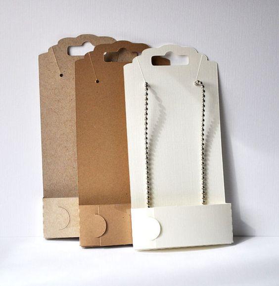 Diy Bracelet Display Card: Necklace Display, Display And Cards On Pinterest