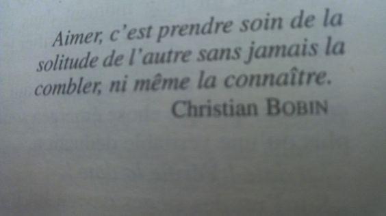 Christian Bobin L'essentiel.