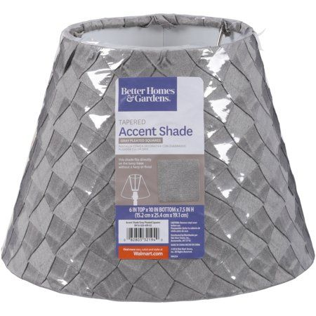 bef98cb2072f7232ed023043142a9578 - Better Homes And Gardens Gray Pleat Shade