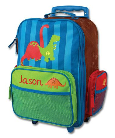 Dinosaur Personalized Rolling Luggage | Dinosaurs, Ps and Look at