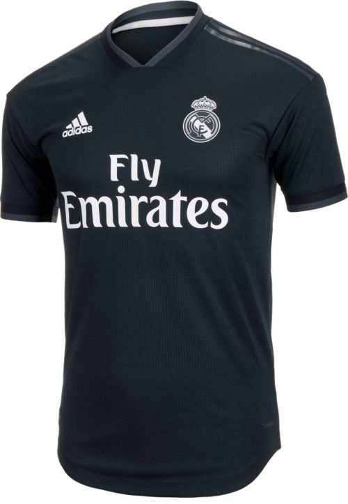 Adidas Real Madrid Away Authentic Jersey 2018 19 Soccerpro Real Madrid Real Madrid Kit Madrid