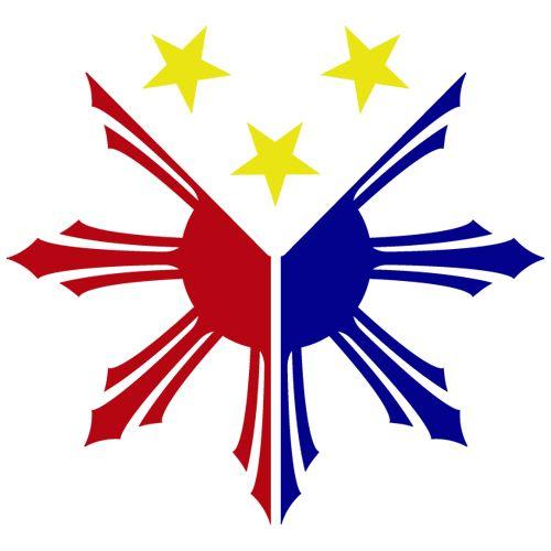 Philippines Flag Logo Sun Star Pinoy Pinay Custom Vinyl Decal O7bwaf Clipart Jpeg 500 500 Filipino Tattoos Philippine Flag Philippine Flag Wallpaper