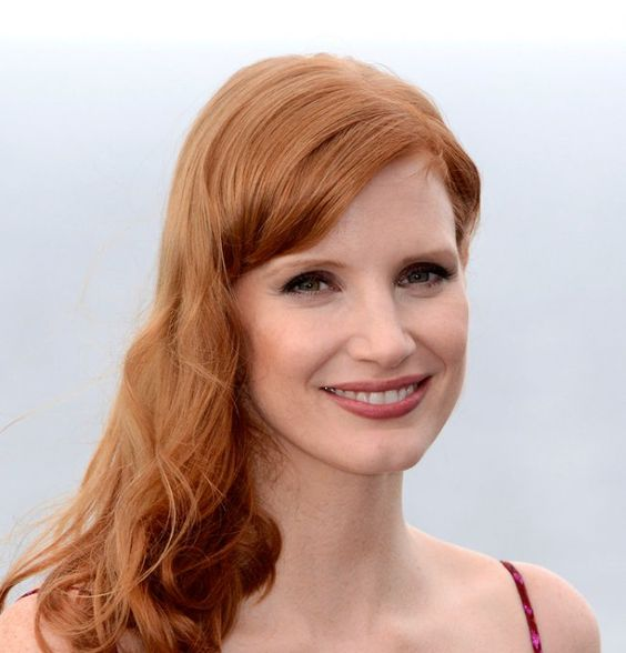 Star rousse : Jessica Chastain