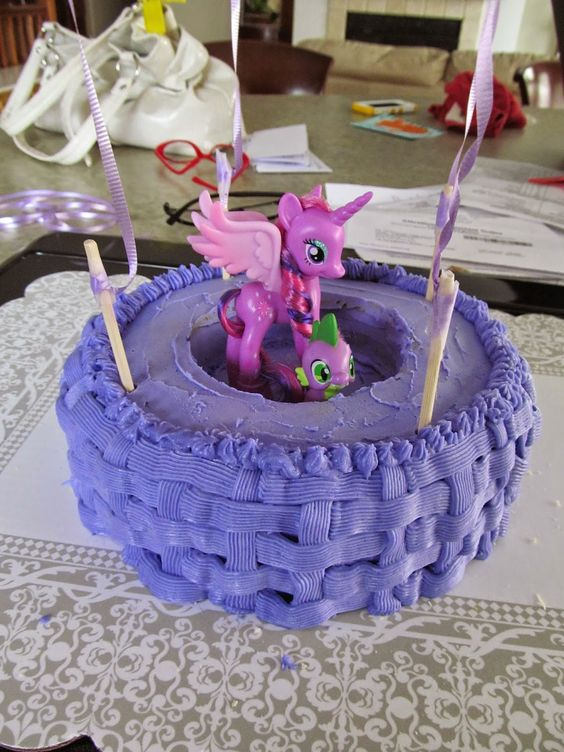 *A Time To Be Crafty ~ My Little Pony cake