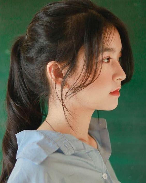 Best Korean Haircut For Long Hair For Woman 2020 In 2020 Asian Haircut Korean Haircut Long Hair Styles