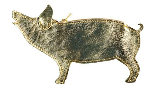 a pig for your coins :)