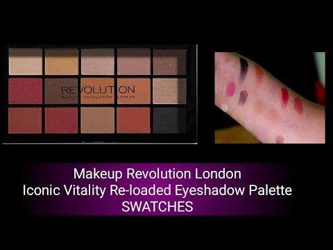 Makeup Revolution London Iconic Vitality Re Loaded Eyeshadow