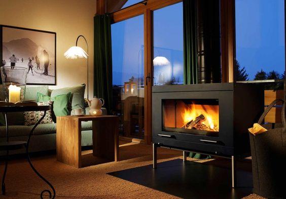 Schneeweisschen Wohnzimmer Kamin Bergesgrün Oberstdorf Luxus Ferienwohnung