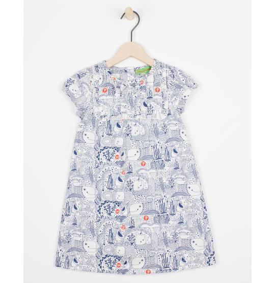 Bedrukte jurk ZulupaPUWA - JBC Webshop BE - NL