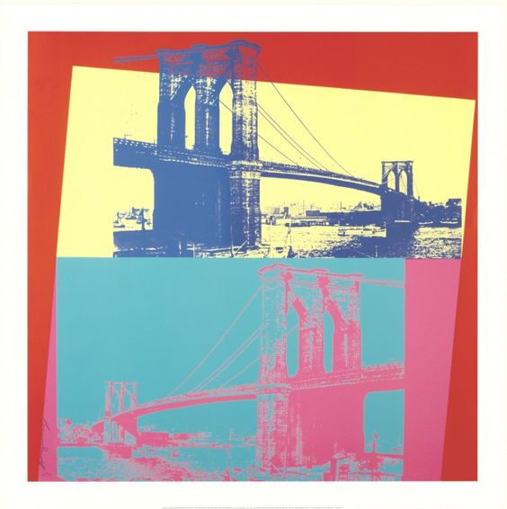 Warhol- Brooklyn Bridge