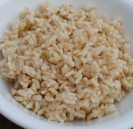Brown Rice - 1.5 cups water, 1 cup rice, 11 mins pressure cook, then natural release - if you leave it too long after pressure drops, it will get kinda mushy