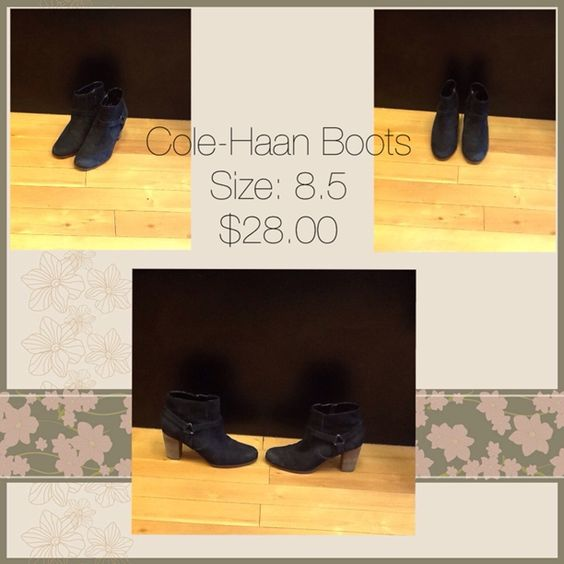 Cole-Haan - Cole-Haan boots  Size:8.5 $28.00