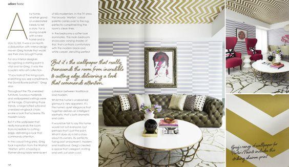 我們看到了。我們是生活@家。: 用南半球的繽紛多彩夏季展開!居家線上雜誌Adore Home