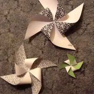 Pinwheels. First try.