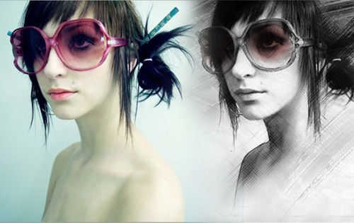 How to Create a Painting Effect   Photoshop Tutorial
