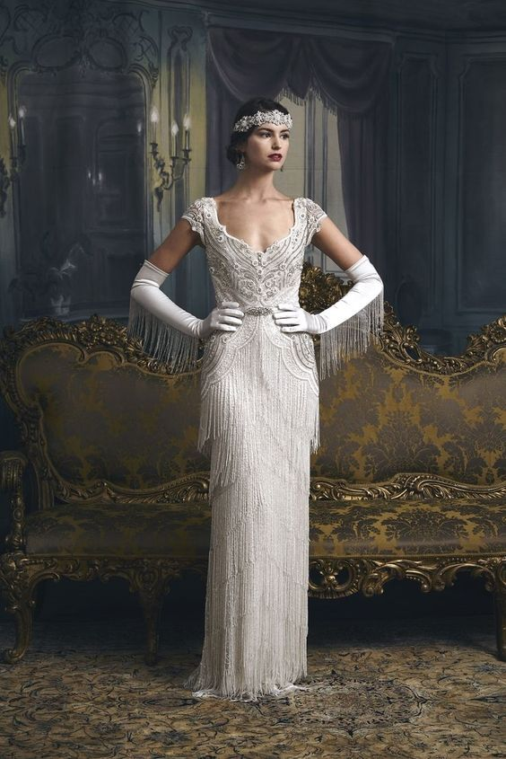 Visit The Post For More 1920s Wedding Dress Wedding Dresses Vintage 20s Glamourous Wedding Dress