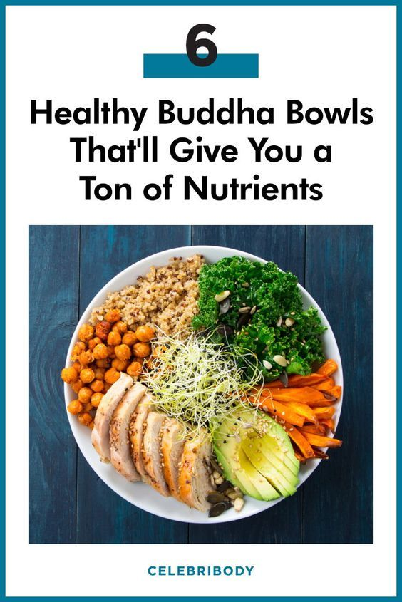 6 Healthy Buddha Bowls That Are As Pretty As They Are Delish In 2020 Healthy Buddha Bowls Recipe Recipes