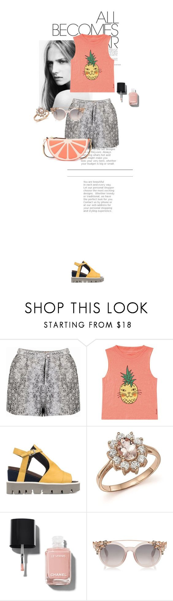 """Unbenannt #2637"" by akchen ❤ liked on Polyvore featuring Billabong, Strategia, Bloomingdale's, Chanel and Kate Spade"