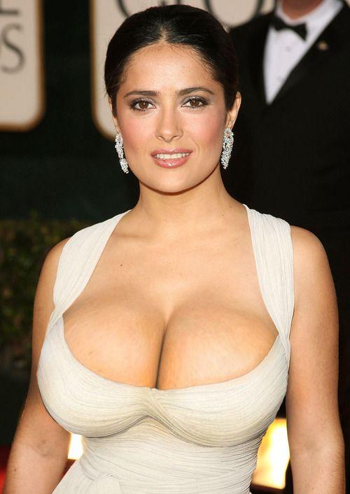 Salma hayek big tits