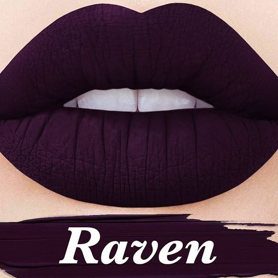 COMING SOON: 'Raven,' the darkest color possible without being black in our upcoming #2MOODS Velvetine Duo!  Subscribe to be notified when this duo drops: limecrime.com  #limecrime #velvetines
