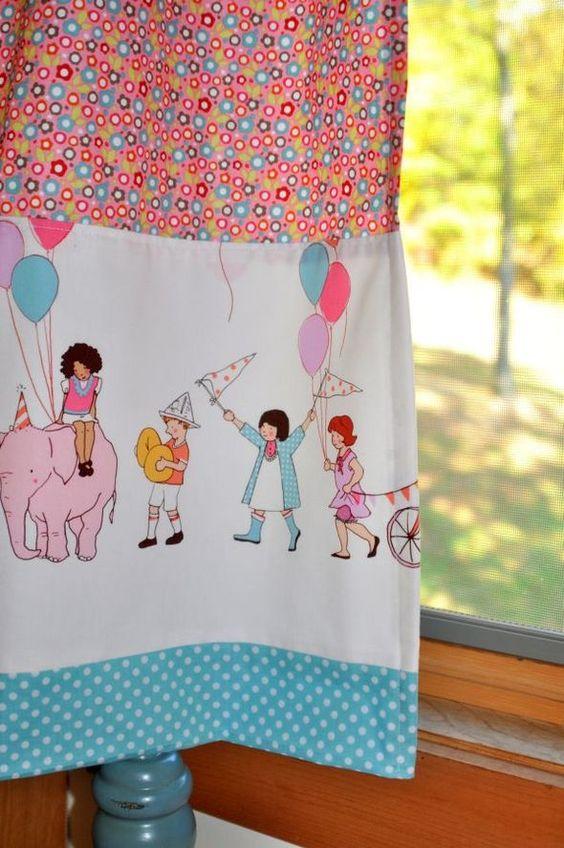 Cute curtain.