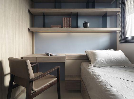 Study room interior inspirations pinterest kid - Small bedroom study ideas ...