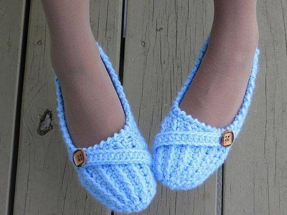 sapatos de croche - Pesquisa Google