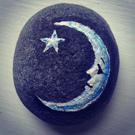 Estrella, Luna y buenas!!!! #luna #moon #estrella #star #noche #night #soothing #love #sweetdreams #goodnight