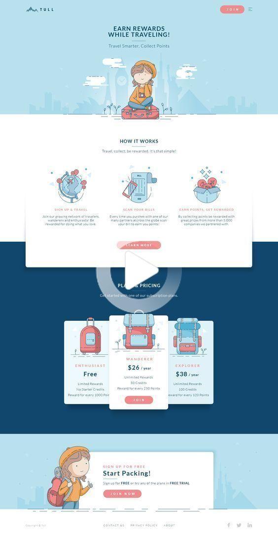 Minimal Clean Blue Email Design Html Email Gallery In 2020 Web Development Design Flat Web Design Web Design Websites