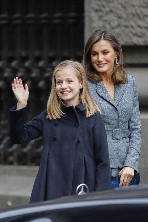 Leonor Ya Tiene Su Primer Truco De Estilo Como Princesa Princesas Princesa Leonor De Borbón