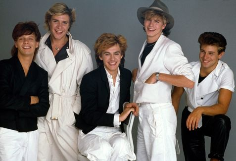 My number-one favorite band, Duran Duran!! Love this picture: