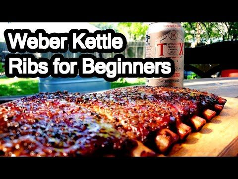 350 How To Make Ribs On A Charcoal Grill Easy Youtube Ribs On Grill Healthy Grilling Recipes Grilled Baby Back Ribs