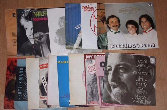 18x 7  Vinyl Collection POP Fendrich Anderson Sarstedt Leander Dixielands