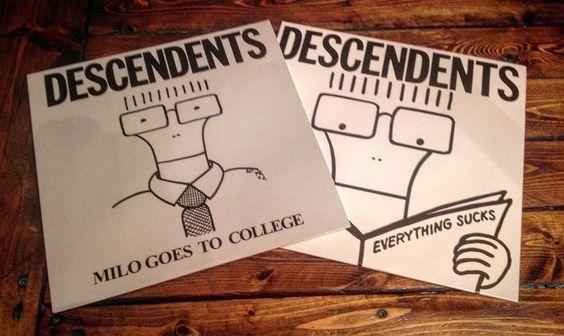 Debate night round 4. Which era of Descendents do you prefer? Auckerman/Stevenson/Lombardo/Navetta Auckerman/Stevenson/Eggerton/Alvarez or other?  #Punk #punkrock #punkvinyl #punkrockvinyl #vinyl #vinylpunx #vinylnerd #vinylcollector #vinylcollection #record #records #recordcollection #recordcollector #music #nowspinning #lp #descendents #milo #epitaph by vinylpunx