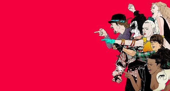 Violência, ironia e cultura pop nas ilustrações de Boneface