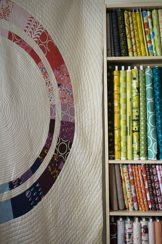 Intricate quilting