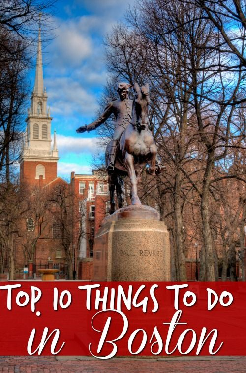The Top Things To Do In Boston History Vacation And - 10 great winter vacation ideas