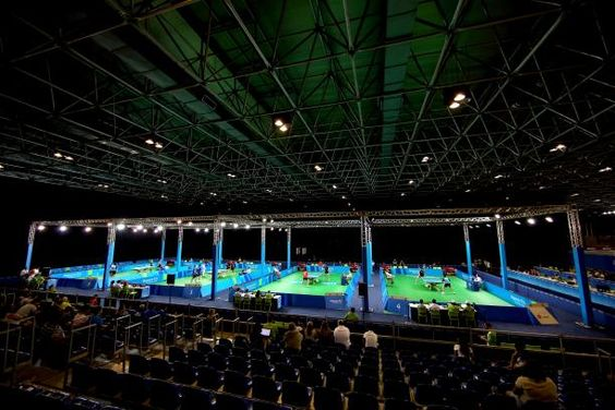 Hosts' mixed fortunes in table tennis team event 14.09.2016 Brazil stars thank fans for creating a special atmosphere at their home Paralympic Games in Rio. - RioCentro - Pavilion 3