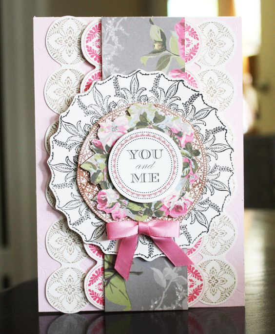 The new Doily Stamp Kit by Anna Griffin, Inc.