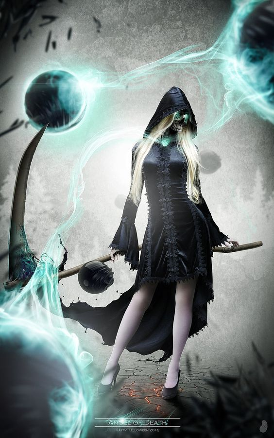 Female version of the Grim Reaper for Halloween 2012 ...