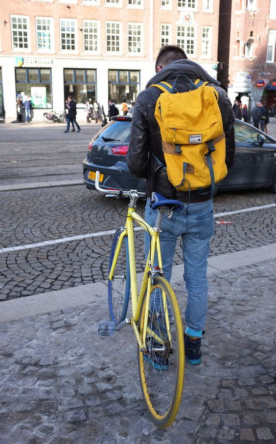 The Cycle Flaneur ((via Fall racer | Amsterdam Cycle Chic))